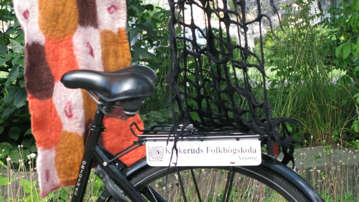 Skolcykel på Kyrkeruds folkhögskola