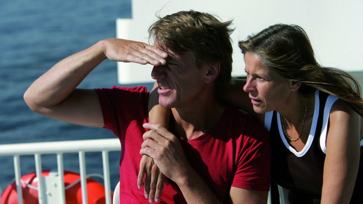 Par ser på utsikt från fartyg